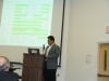 SPP Ph.D. student Juan Julio Gutierrez presents his research to the CSTP-CESIS workshop.