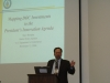 Marc Berejka of the U.S. Department of Commerce gave the keynote speech at the CSTP-CESIS workshop.